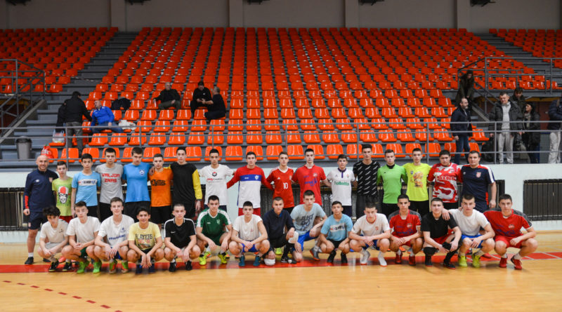 U16 Srbija futsal Požarevac